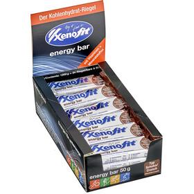 Xenofit Energy Bar Box (24 x 50 g), Chocolate/Crunch